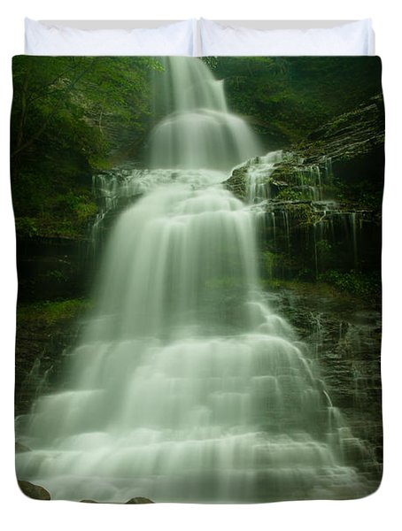 Cathedral Falls Duvet Cover