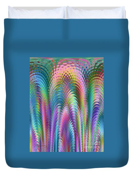 Cathedral Duvet Cover by Mariarosa Rockefeller
