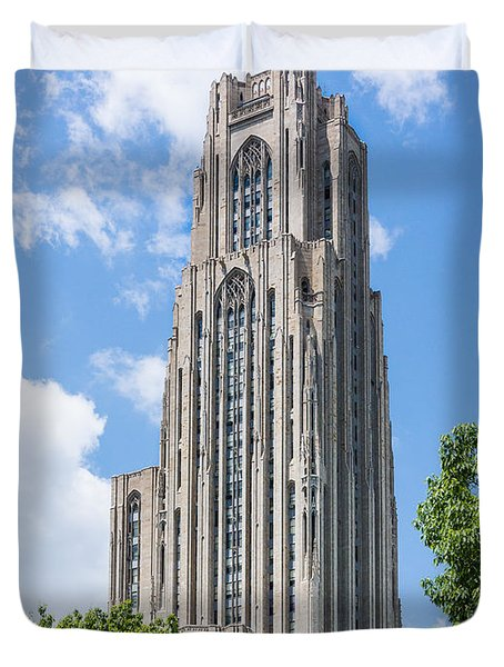 Cathedral Of Learning - Pittsburgh Pa Duvet Cover