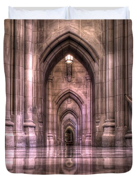 Cathedral Reflections Duvet Cover