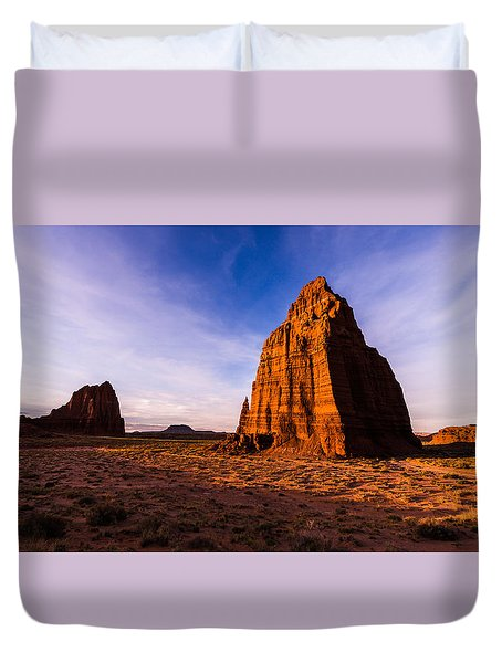 Cathedral Temples Duvet Cover