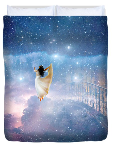 Caught Up Duvet Cover by Dolores Develde