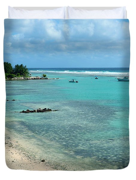 Cayman Beach Duvet Cover