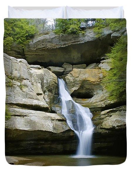 Cedar Falls Duvet Cover