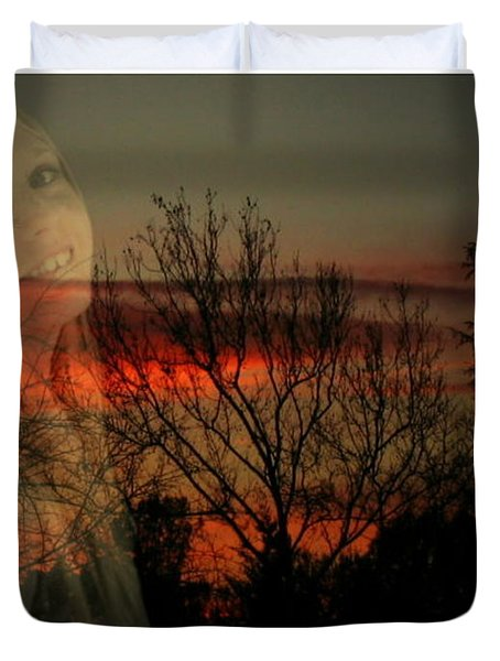 Duvet Cover featuring the photograph Celebrate Life by Joyce Dickens