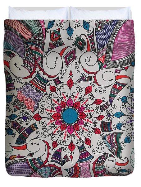 Celebration Of Design Duvet Cover by M Ande