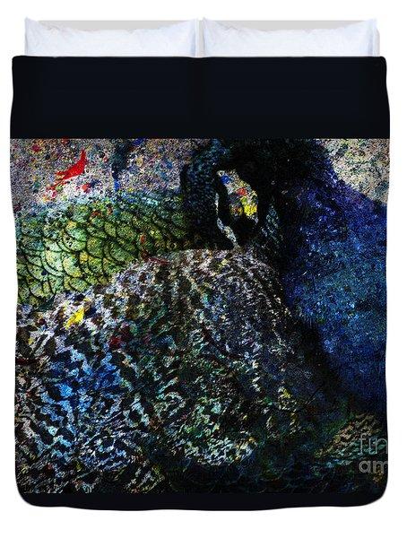 Celebration Of The Peacock #2 Duvet Cover