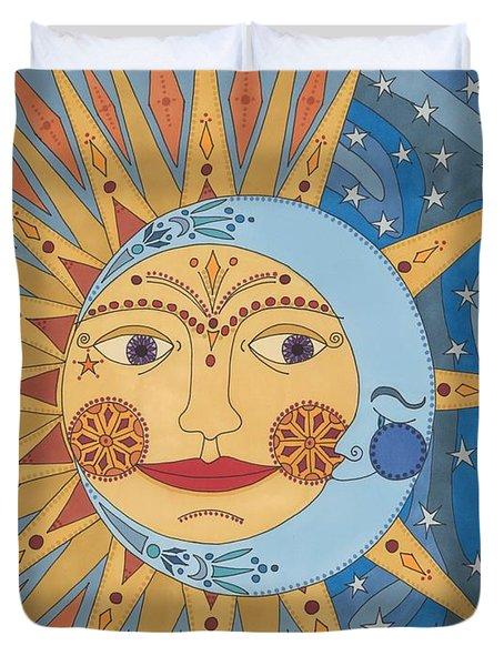 Celestial Embrace Duvet Cover