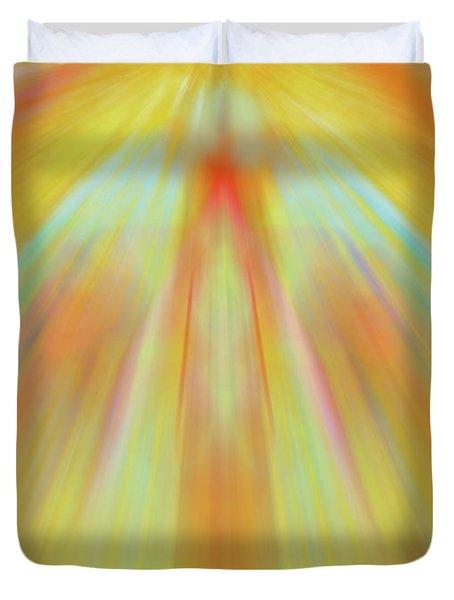 Celestial Flight Duvet Cover