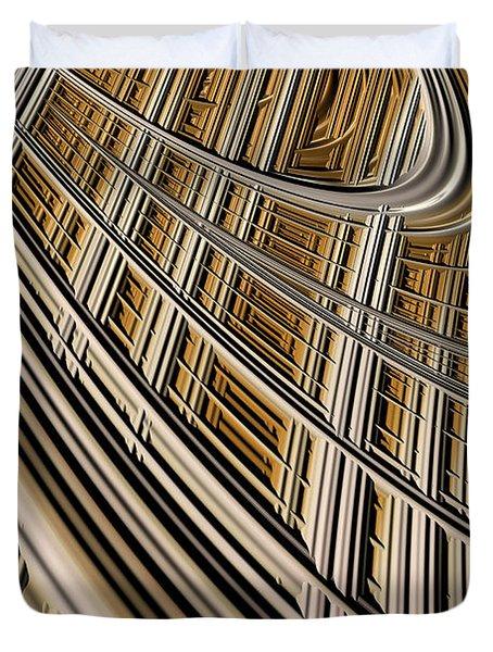 Celestial Harp Duvet Cover by John Edwards