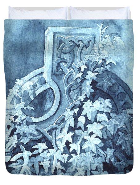 Celtic Cross Study Duvet Cover