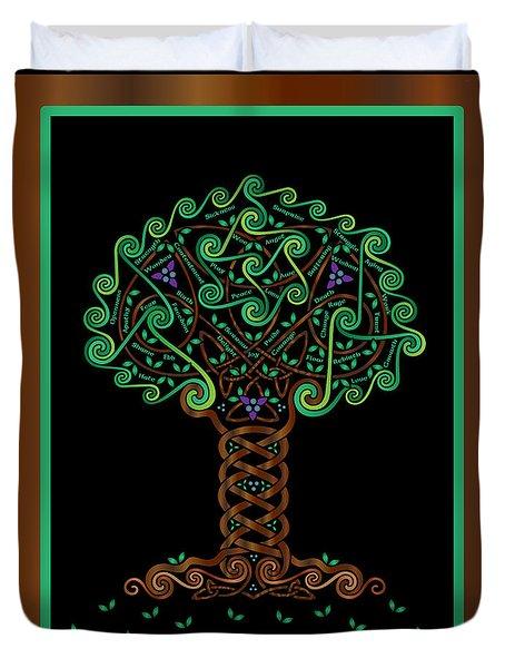 Celtic Tree Of Life Duvet Cover