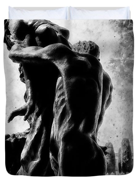 Cemetery Of Verona Duvet Cover