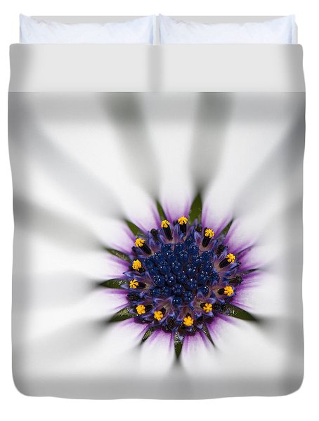 Duvet Cover featuring the photograph Center Of Life by Carolyn Marshall