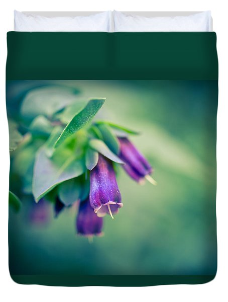Cerinthe Abstract Duvet Cover by Priya Ghose