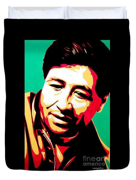 Cesar Chavez Duvet Cover