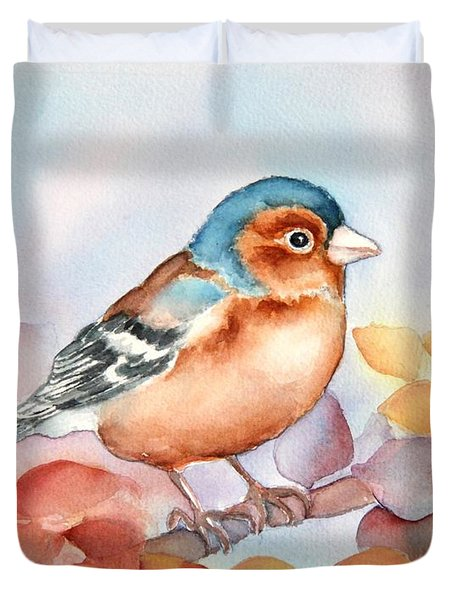 Chaffinch 2 Duvet Cover