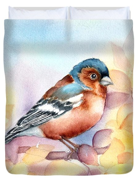 Chaffinch 3 Duvet Cover
