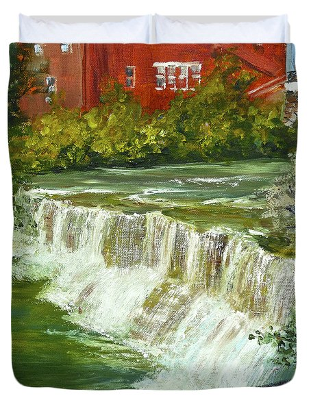 Chagrin Falls Duvet Cover