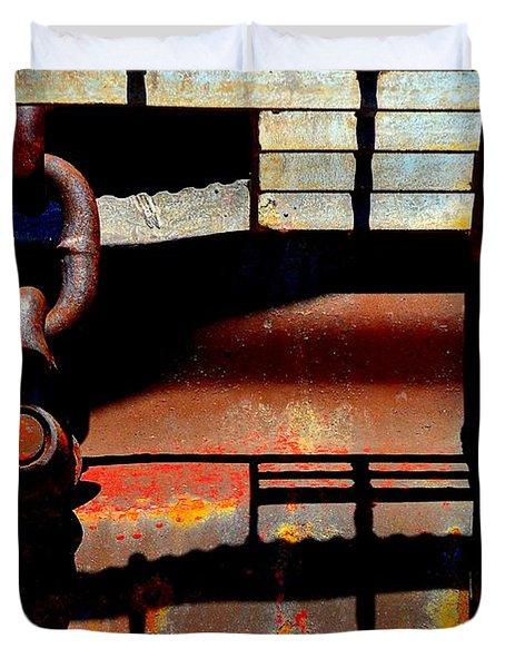 Chain Reaction Duvet Cover by Lauren Leigh Hunter Fine Art Photography