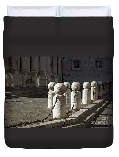 Chained Together Duvet Cover
