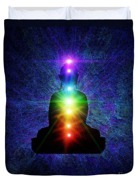 Chakra Buddha Duvet Cover