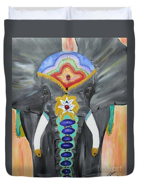 Chakra Elephant Duvet Cover