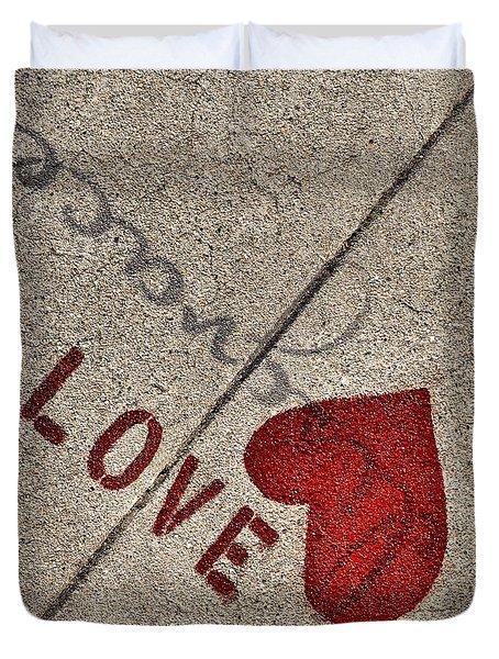 Chalk Expression Duvet Cover