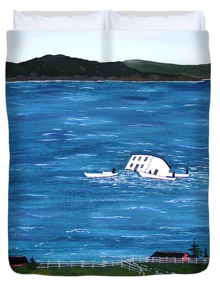 Challenges Duvet Cover by Barbara Griffin