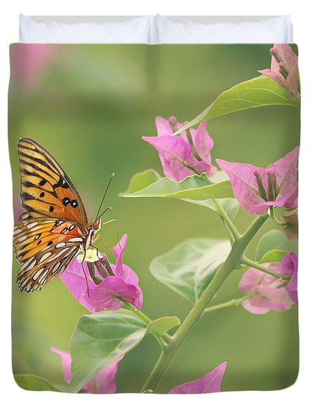 Chance Encounter Duvet Cover by Kim Hojnacki
