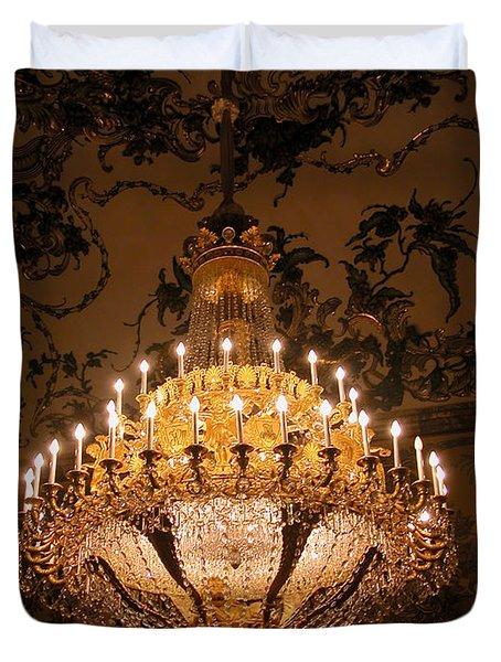 Chandelier Palacio Real Duvet Cover