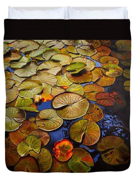 Change Of Season Duvet Cover by Thu Nguyen