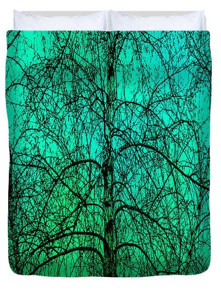 Change Of Seasons Duvet Cover by Bob Orsillo