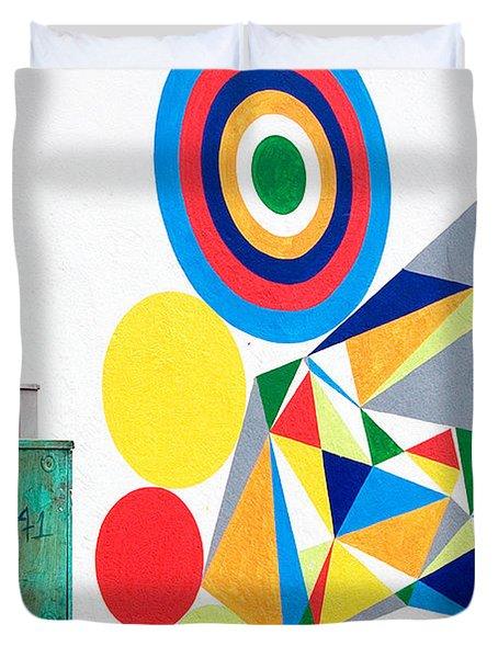 Chaordicolors Duvet Cover