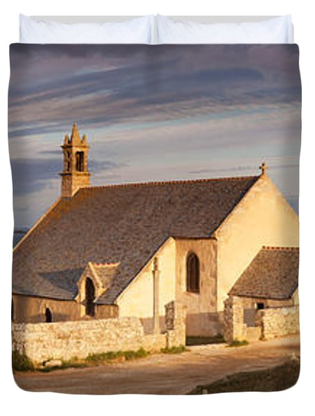 Chapel At The Coast, Chapelle Duvet Cover
