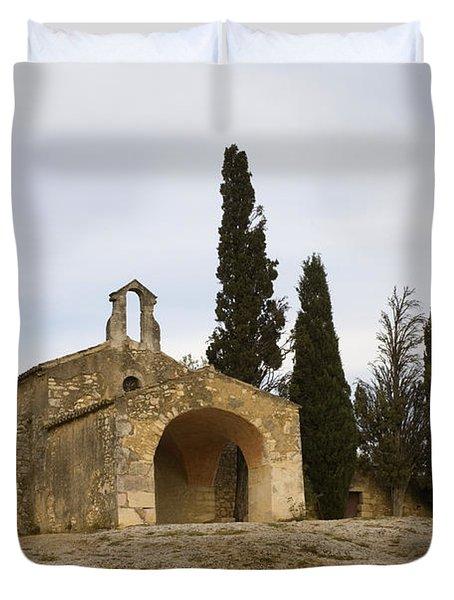 Chapelle Saint Sixte Duvet Cover