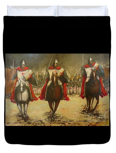 Charge To Battle Duvet Cover