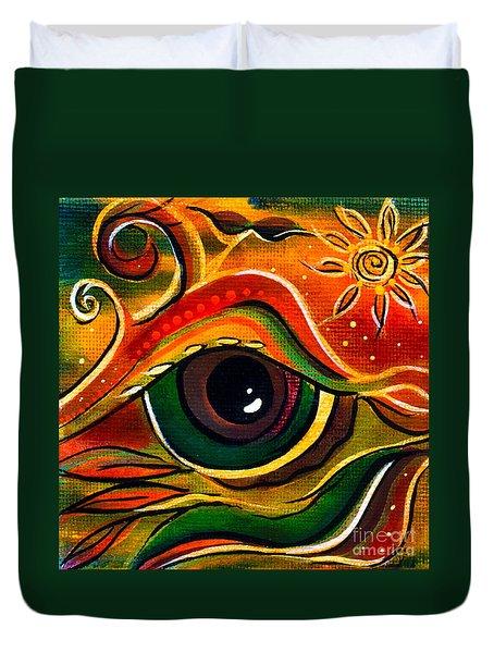 Charismatic Spirit Eye Duvet Cover by Deborha Kerr