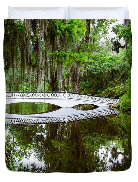Charleston Sc Bridge Duvet Cover