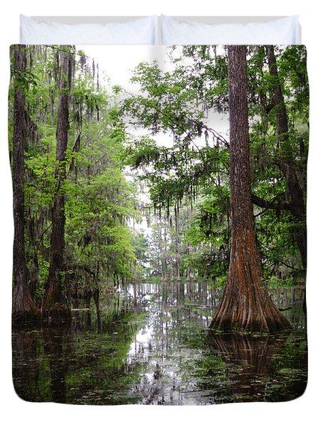 Charleston Swamp Duvet Cover