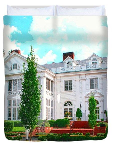Charlotte Estate Charlotte Nc Duvet Cover by William Dey