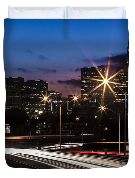 Charlotte Flow Duvet Cover by Chris Austin