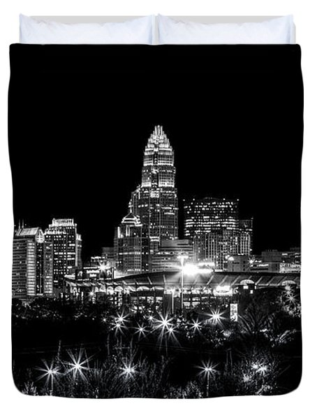 Charlotte Night Duvet Cover by Chris Austin