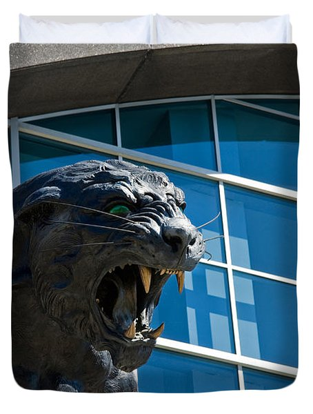 Carolina Panthers Duvet Cover