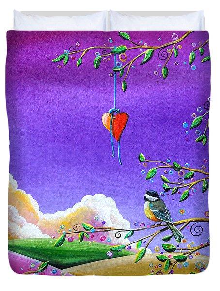 Cherish Duvet Cover by Cindy Thornton