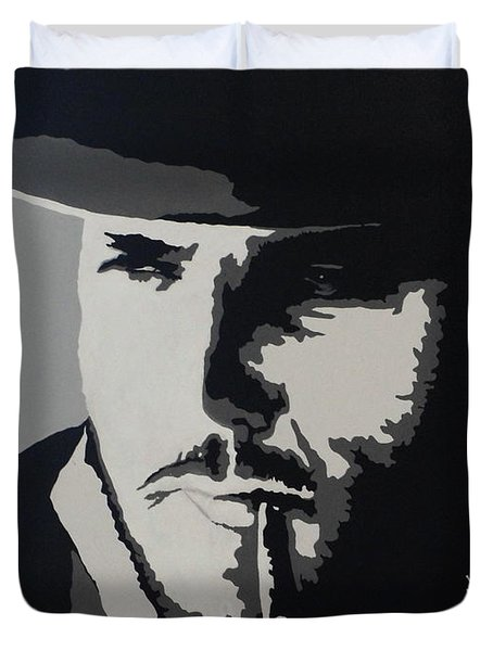 Duvet Cover featuring the photograph Charro by Natalie Ortiz