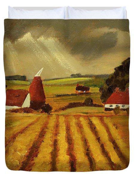 Chart Sutton Duvet Cover by Eric Hains