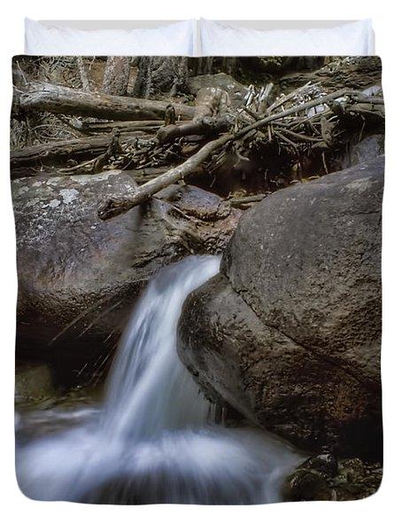 Chasm Falls Duvet Cover