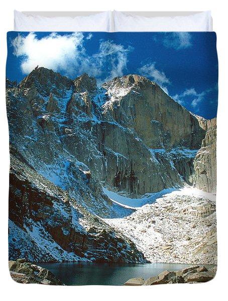Chasm Lake Duvet Cover