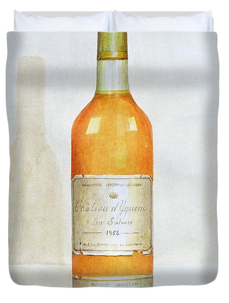 Chateau D Yquem Duvet Cover by Lincoln Seligman